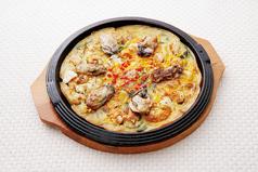 牡蠣海鮮チヂミ