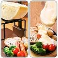 料理メニュー写真ハイジのチーズとして有名★ラクレットチーズ!