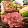 料理メニュー写真アンガス牛の熟成ステーキ 250g