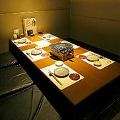完全個室は6名様まで接待や大切な打ち合わせなどにも・・・・