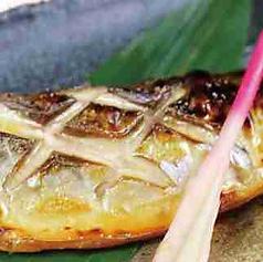 トロ鯖の塩焼き/