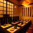 1Fテーブル8名様個室