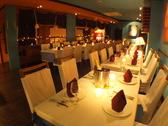 ≪3F≫落ち着いてディナーを愉しめる大人な雰囲気です