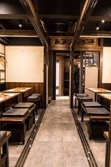 【別邸ろはん】個室は2名様から4名様用が2つ、6名様から8名様の用が2つございます。