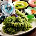 料理メニュー写真あおさの天ぷら