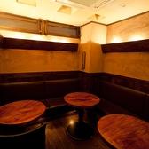プライベート感を出したい時に活躍するのが店内奥の10名様までOKのソファー個室。優雅な空間で宴会はいかがですか!
