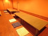 地下には掘りごたつ個室も完備!足をゆったり伸ばせます☆テーブルを繋げて最大36名様!