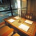 6名個室のお座敷席です。常連様も多くご利用いただいているVIPルームとして一番人気の個室席です。