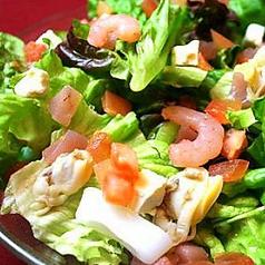 料理メニュー写真シーフードサラダ/豚しゃぶサラダ/Vegabondサラダ