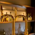 生ビールはデンマーク産の「カールスバーグ」をご用意しております。ビックサイズの生ビールもあります。