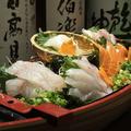 料理メニュー写真『豪華絢爛!』新鮮刺舟盛り