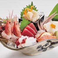 毎日新鮮な魚介類が入荷!