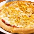 料理メニュー写真ペパロニサラミのピザ