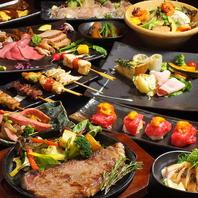 肉寿司が食べれるコースもございます♪