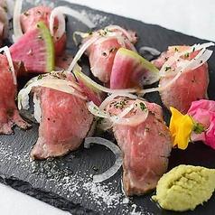 jadore名物肉寿司