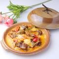 料理メニュー写真牛バラのチーズ煮込/茄子のチーズ煮込/豚肉のチーズ煮込