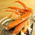 料理メニュー写真茹でズワイ蟹~土佐酢で
