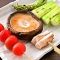 料理メニュー写真やき野菜