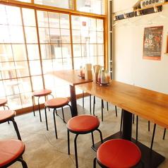 4名掛けテーブル×6卓で少人数の宴会でも大人数の宴会にも対応可能です!!
