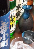 地酒の品揃え