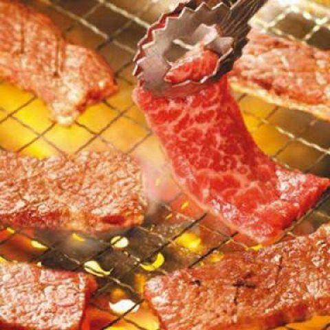 ◆焼肉夏祭りコース【和平コース】+飲み放題◆100分間約70品食べ放題!国産鶏・豚付4500円