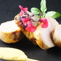 料理メニュー写真阿波尾鶏の薪焼き