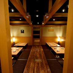 個室居酒屋 紬 tsumugi 清水店の雰囲気1