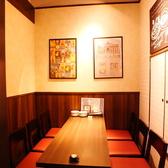 6名様の個室。
