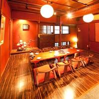 2名様~最大20名様ご利用可の大小完全個室がある居酒屋