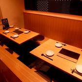 4名~8名程度でご利用になれる掘りごたつ式テーブル席です。