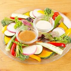 料理メニュー写真国産野菜のバーニャカウダ