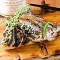 料理メニュー写真鮮魚の薪焼き