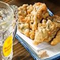 【アラカルト料理】サクサクお酒のおつまみにピッタリ!舞茸の天ぷら490円