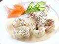 料理メニュー写真海老と帆立のクリーム煮