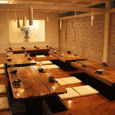 【3F】座敷個室は会社での接待やご宴会、歓送迎会などに喜ばれております。