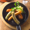 料理メニュー写真ソーセージのオーブン焼き