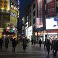 【道案内1】JR蒲田駅西口を出て、ロータリーを正面に右折。ドン・キホーテとGAME SILK HATの間の路地をまっすぐ進む。