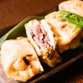 料理メニュー写真ラムとレンコンの天麩羅