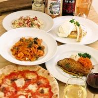 地元の野菜や鮮魚、お肉にチーズ、旬の食材を愉しむ!