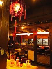 【雰囲気自慢】中国伝統の飾りなどを装飾しており、お洒落な内観