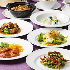 中国料理 桃煌 JRホテルクレメント高松のコース写真