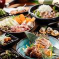 ◆ご宴会に◆飲み放題付コース多数ご用意しております!地鶏料理はもちろん、新鮮な馬肉を使用した馬刺しなど厳選された逸品メニューも豊富にご提供いたします。