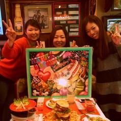 【★誕生日&記念日★】主役も喜ぶ誕生日パーティーならフラッシュバックカフェ♪