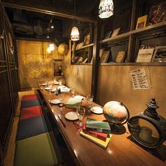 宴会個室マタギの書斎宴部屋 半個室