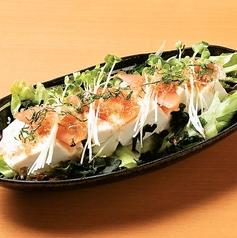 豆腐のヘルシーサラダ