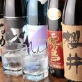 日本酒だけじゃない!焼酎も豊富に取り揃えております。