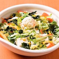 15品目野菜のメガ盛りサラダ