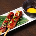 料理メニュー写真鶏もも串/鶏皮串 /鶏つくね串 /レバー串/かしら串