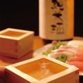 和食に合う日本酒・焼酎を充実いたしております。そのときの気分や、お料理に合わせて、お好みでお楽しみください。係りの者と、相談して決めるのも楽しみの一つです。自分では選ばないお酒に出会えるかもしれませんよ。この機会にぜひ、様々なお酒をお試しください。