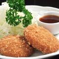 料理メニュー写真黒豚メンチカツ (2ヶ)